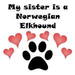 My Sister Is A Norwegian Elkhound