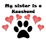 My Sister Is A Keeshond