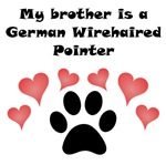 My Brother Is A German Wirehaired Pointer
