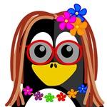 Hippie Penguin