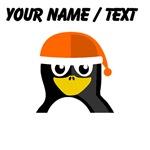 Custom Orange Hat Penguin