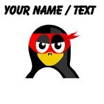Custom Superhero Penguin