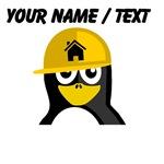 Custom Construction Worker Penguin