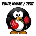 Custom Valentine's Day Penguin