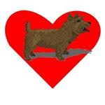 Norwich Terrier Heart