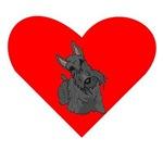 Scottish Terrier Heart