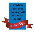 With Vloople, giving a meal to a hungry child has