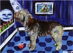 OTTERHOUND whimsical art!