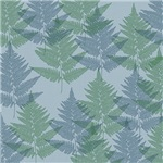 Blue and Green Ferns