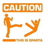 Caution This is Sparta