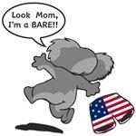 Look Mom I'm Koala Bare