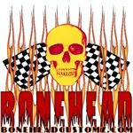 BONEHEAD W TALL FLAMES