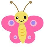 Cute Baby Butterfly