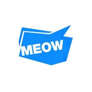 meow - blue