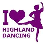 Loving Highland Dancing Purple