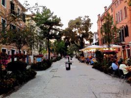 Strada di Venezia, Photo / Digital Painting