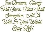 Breathe Enjoy Life! Design