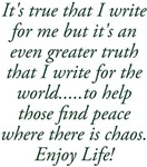 Writing for the World Enjoy Life! Design