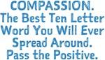 COMPASSION Pass the Positive Design