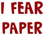 I Fear PAPER