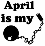 April (ball and chain)