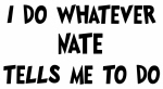 Whatever Nate says