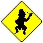 Leprechaun Crossing Sign