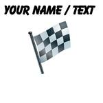 Custom Checkered Flag