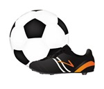 Soccer Ball And Spikes
