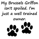 Well Trained Brussels Griffon Owner