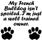 Well Trained French Bulldog Owner
