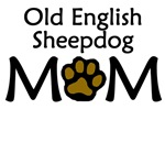 Old English Sheepdog Mom