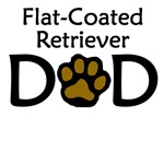 Flat-Coated Retriever Dad