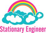Stationary Engineer Cloud Rainbow