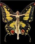 Art Deco Butterfly Flapper Jazz Age 1920s