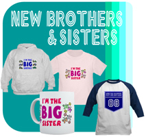 Gifts for New Big Brothers & Sisters
