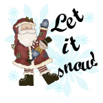 Santa Let it Snow
