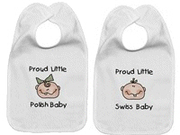 Baby Nationalities Bibs