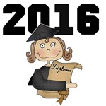 Boy and Girl Graduation 2014 T-shirts, Mugs