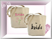 More Unique Wedding Tote Bags!