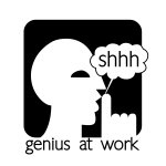 Shhh Genius at Work