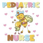 Bee Pediatric Nurse T-shirts and Gifts