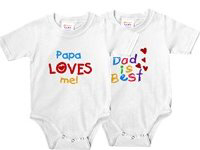 All Text Baby Bodysuits!