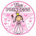 Princess Stick Figure T-shirts and Gifts