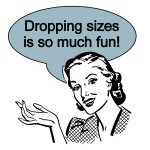Dieting Dropping Sizes T-shirts and Gifts