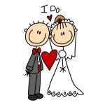 I Do Bride and Groom Tshirts and  Gifts