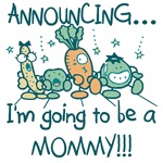 Veggies Future Mommy Tshirts and Gifts