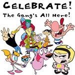 Celebrate With Cartoon Network Characters Tshirts