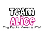 Twilight Team Alice T-Shirts