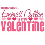 Sorry Guys Emmett Cullen Is My Valentine T-Shirts